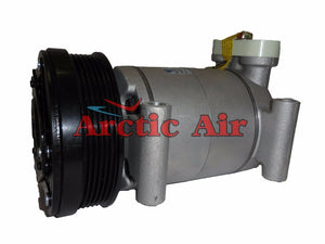 57950 AC Compressor for 1996-2000 Cadillac Escalade, Chevy & GMC C/K/P Series, and Yukon (front view)