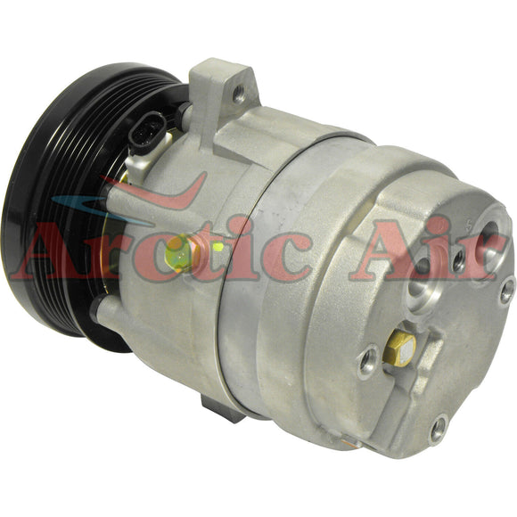57996 AC Compressor with Clutch fits 1992-1994 Chevrolet Cavalier 2.2L