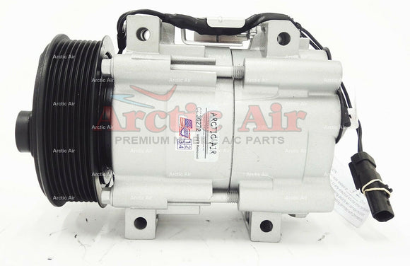 67182 AC Compressor for 2006-2010 Dodge Ram 2500/3500/4500/5500 (front view)