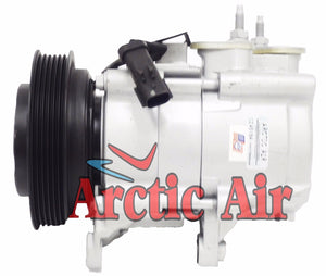 67184 AC Compressor fits 2006-2008 Jeep Liberty and 2007-2008 Dodge Nitro 3.7L
