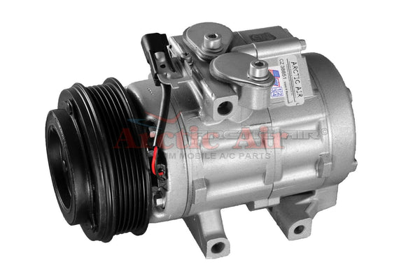 67187 AC Compressor for 2006-2008 Ford Explorer Mercury Mountaineer w/Rear AC