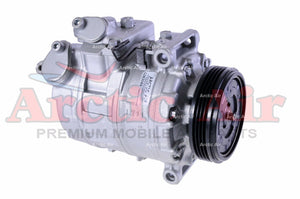 67305 AC Compressor for 2004-2006 BMW 525i/530i/545i and 2005-2010 BMW 550i (front view)