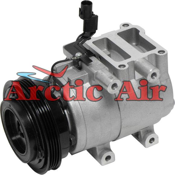 67314 AC Compressor with Clutch fits 2001-2005 Hyundai Accent 1.6L