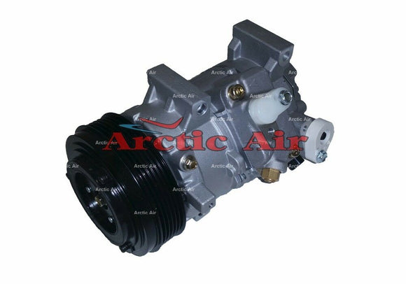 67328 AC Compressor for 2008-2011 Scion xD and Toyota Corolla/Matrix (front view)