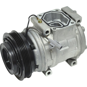 67391 AC Compressor fits 1995-1998 Toyota T100 and 2000-2004 Toyota Tundra 3.4L