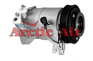 67438 AC Compressor for 2002-2006 Nissan Altima and 2003-2007 Nissan Maxima (front view)