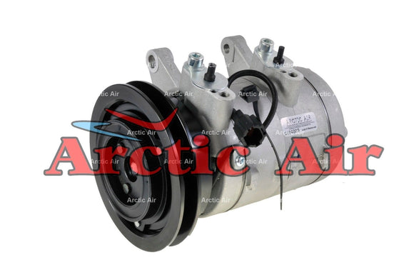 67455 AC Compressor Fits 1998-2004 Nissan Frontier and 2000-2004 Xterra