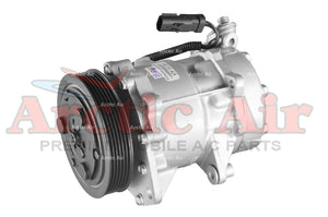 67576 AC Compressor for 2002-2005 Jeep Liberty 3.7L (front view)