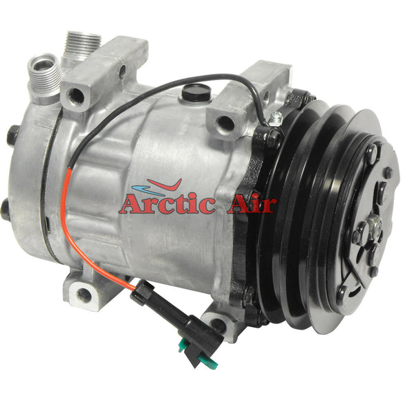 67579 AC Compressor with Clutch for 2004 Freightliner FC70/FL50 and 1996-2006 Freightliner FS65