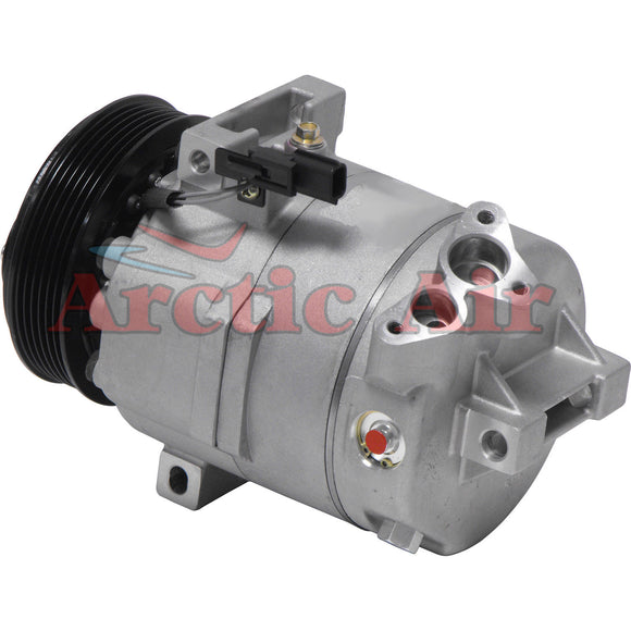 67662 AC Compressor with Clutch fits 2007-2012 Nissan Sentra
