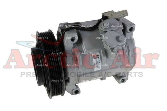 77301 AC Compressor for 2001-2007 Chrysler Voyager and Dodge Caravan (front view)
