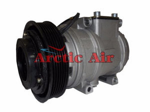 77334 AC Compressor for 1994-2003 Lexus ES300 and Toyota Avalon/Camry/Solara (front view)