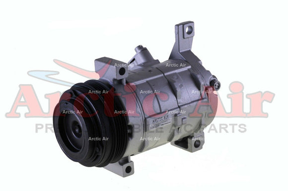 AC Compressor for 2003-2011 Escalade, Suburban, Sierra, and Yukon front view