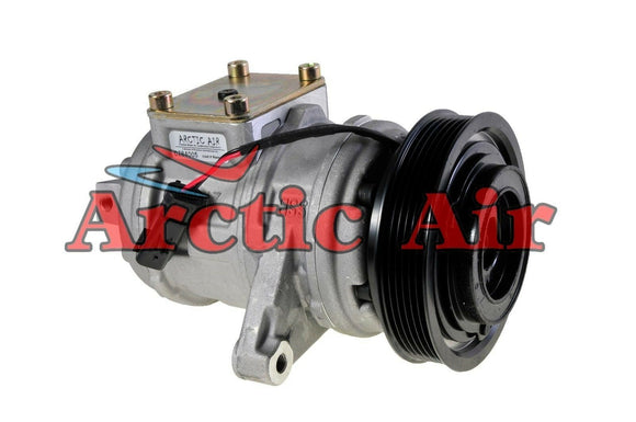 AC Compressor for 1999-2006 Jeep Grand Cherokee, TJ, and Wrangler front view