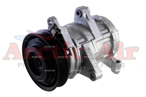 AC Compressor with Clutch for 1999-2004 Jeep Grand Cherokee front view