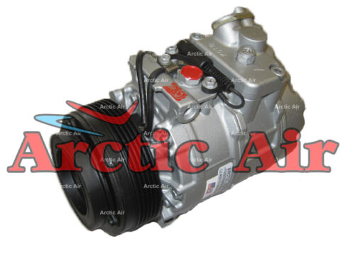 77396 AC Compressor for 1997-2006 BMW 323Ci, 325i, and 328Ci models (front view)