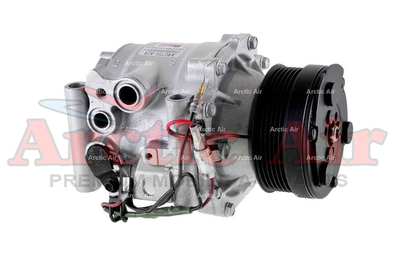 77547 AC Compressor for 1999-2003 Saab 9-3 (front view)
