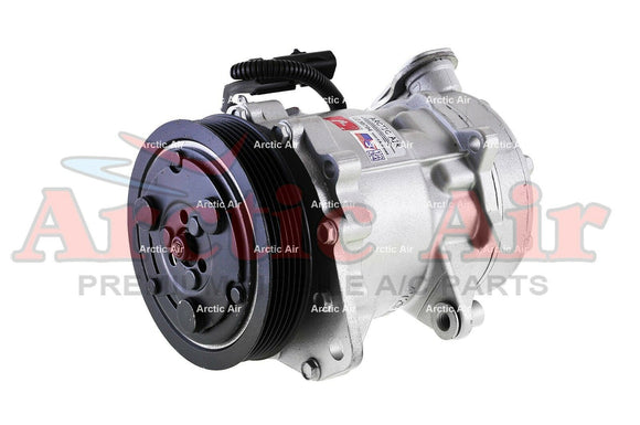 77558 AC Compressor for 2002-2003 Dodge Dakota/Durango/Ram Series (front view)