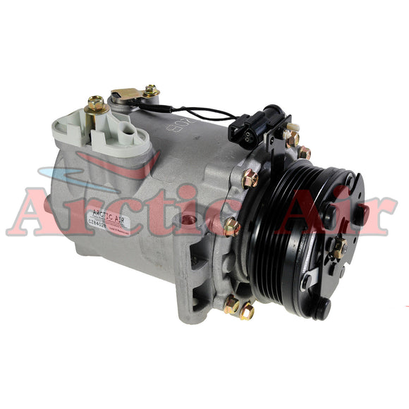 77570 AC Compressor with Clutch for 2004-2007 Saturn Vue 2.2L engine