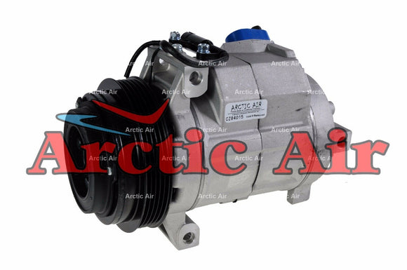 97349 AC Compressor for 2001-2002 BMW X5 and 2004-2005 Land Rover Range Rover (front view)