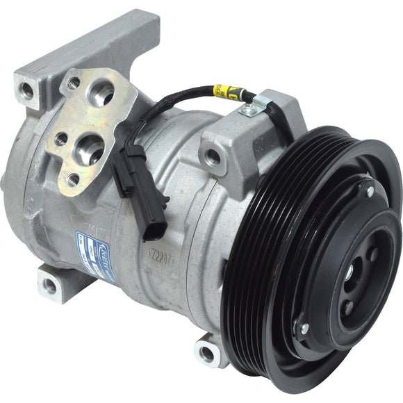 97351 AC Compressor with Clutch for 2003-2006 Jeep Wrangler 2.4L