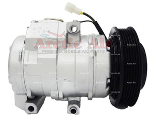 97367 AC Compressor with Clutch for 2000-2001 Mazda MPV 2.5L (front view)
