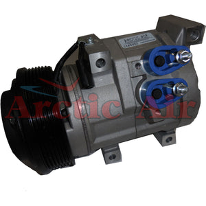 97383 AC Compressor for 2005-2006 Toyota Tundra 4.0L (front view)
