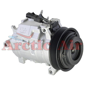 97389 AC Compressor for 2007-2010 Chrysler 300 and Dodge Challenger/Charger/Magnum (front view)