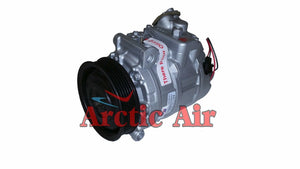 97391 AC Compressor for 2006-2013 BMW 325i/325xi/328i (front view)