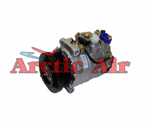 97396 AC Compressor for 2001-2004, 2006 Mercedes-Benz CL500/CL55 AMG (front view)