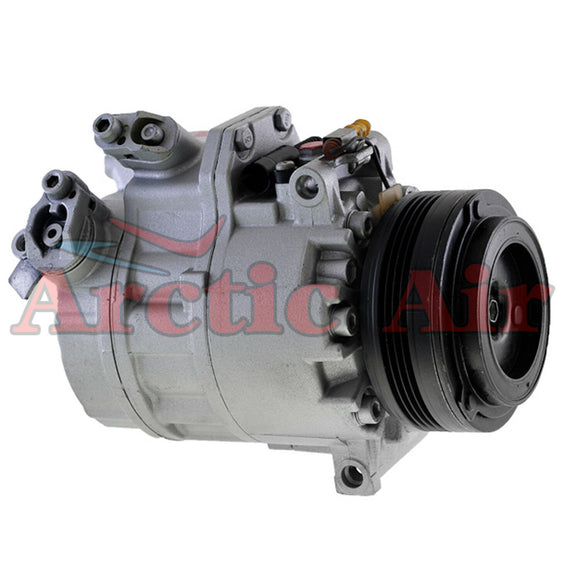 97444 AC Compressor with Clutch for 2003-2006 BMW X5 3.0L (front view)