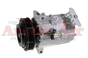 97552 AC Compressor for 2003-2004 Saab 9-3 2.0L (front view)
