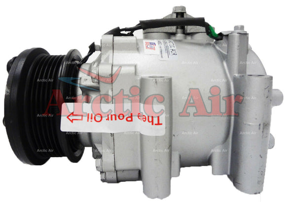 97562 AC Compressor for 2006-2009 Ford Escape and Mercury Mariner Hybrid (front view)