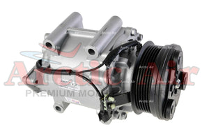 97569 AC Compressor for 2005-2007 Ford Five Hundred/Freestyle and Mercury Montego (front view)