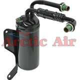 33054 A/C Drier for 1992-1993 Ford E-150 250 and 350 Econoline Series front view