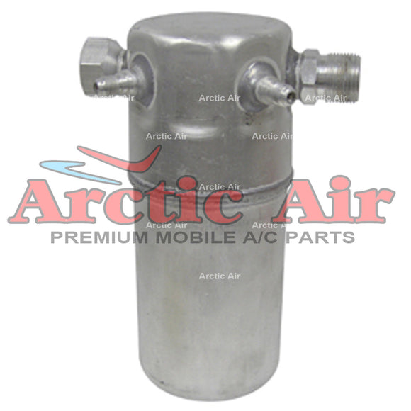 33192 A/C Accumulator fits 84-92 Audi 5000/90 Chevy & GMC G Series Pontiac Fiero front view