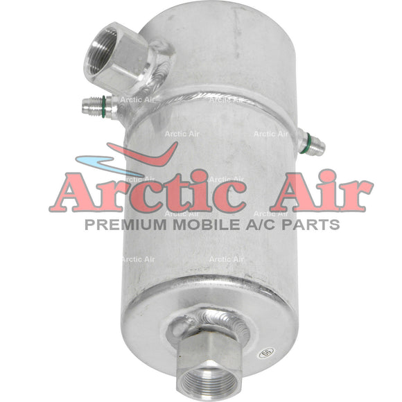 33204 A/C Accumulator Drier for Buick Skyhawk, Skylark, and Chevy & GMC C Series front view