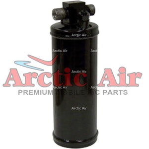 33264 A/C Accumulator Drier for 1980-1989 Volvo 240, 244, 245, 262, 264, and 265 front view
