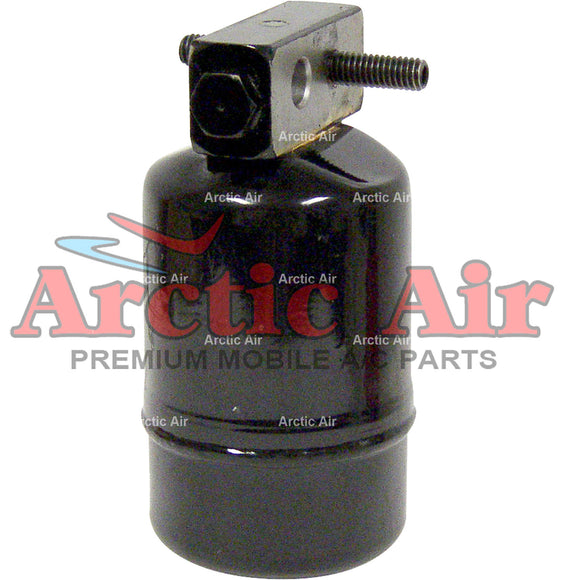 33557 A/C Drier fits 1993 Chrysler Dynasty Imperial New Yorker & Dodge Dynasty front view