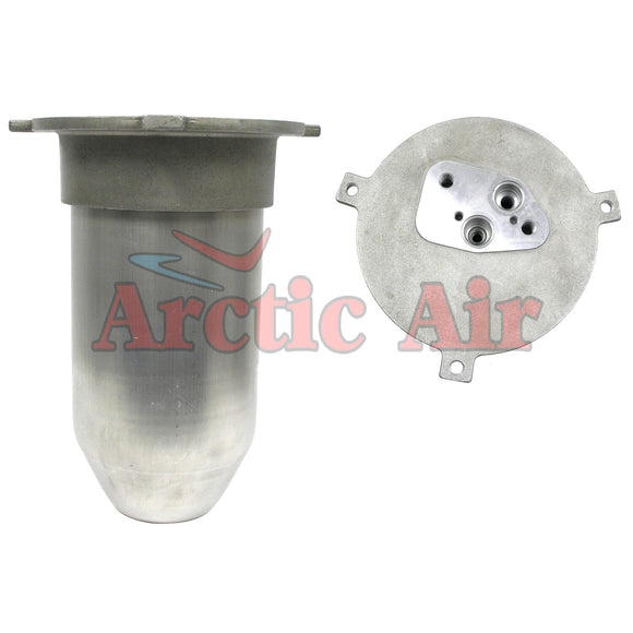33721 A/C Drier for 1995-1997 BMW 740i, 740iL, and 750iL front view