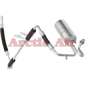 55626 A/C Accumulator with Hose Assembly for 94-96 Ford Sable and Taurus