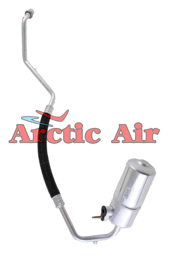 56840 Auto A/C Accumulator with Hose Assembly for 99-04 Ford F-150/Heritage