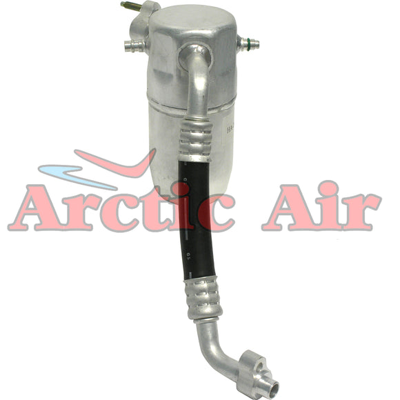 83045 A/C Accumulator with Hose Assembly for Oldsmobile Bravada w/o Rear AC