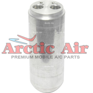 83731 A/C Accumulator Drier for 2004-2015 Audi Series A4/6, R8, and S4/6 front view