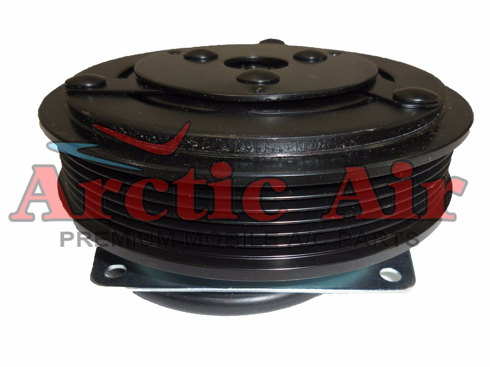 AC Compressor Clutch - York, PV6 Groove, Keyed, 2 Wire 12V