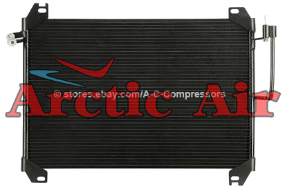3054 AC Parallel Flow Condenser for 2002-2009 Chevrolet Trailblazer and GMC Envoy XL XUV