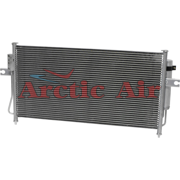 3100 AC Parallel Flow Condenser for 2003-2004 Nissan Frontier/Xterra