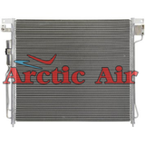 3331 AC Parallel Flow Condenser for 2005-2015 Nissan Frontier / Pathfinder / Xterra