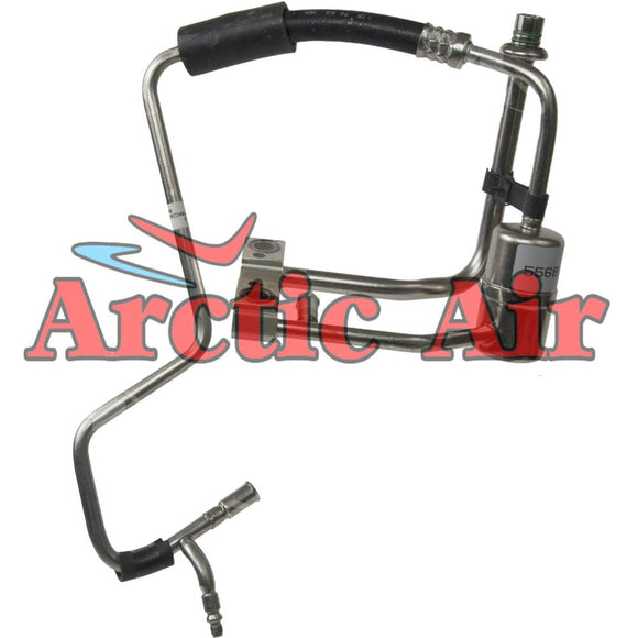 55681 Auto AC Hose Line for 86-89 Ford Taurus and 1986 Mercury Sable