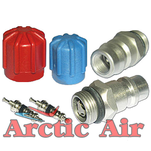 MT2904 AC Cap & Valve Kit for 1994-2007 Buick Cadillac Chevy Olds Pontiac Vehicles